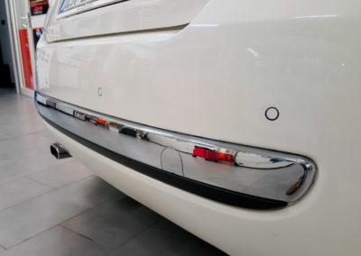 Parking sensor posteriori su Fiat 500 installati da Balbo e Schiaffino