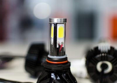 luci led per fari veicolo